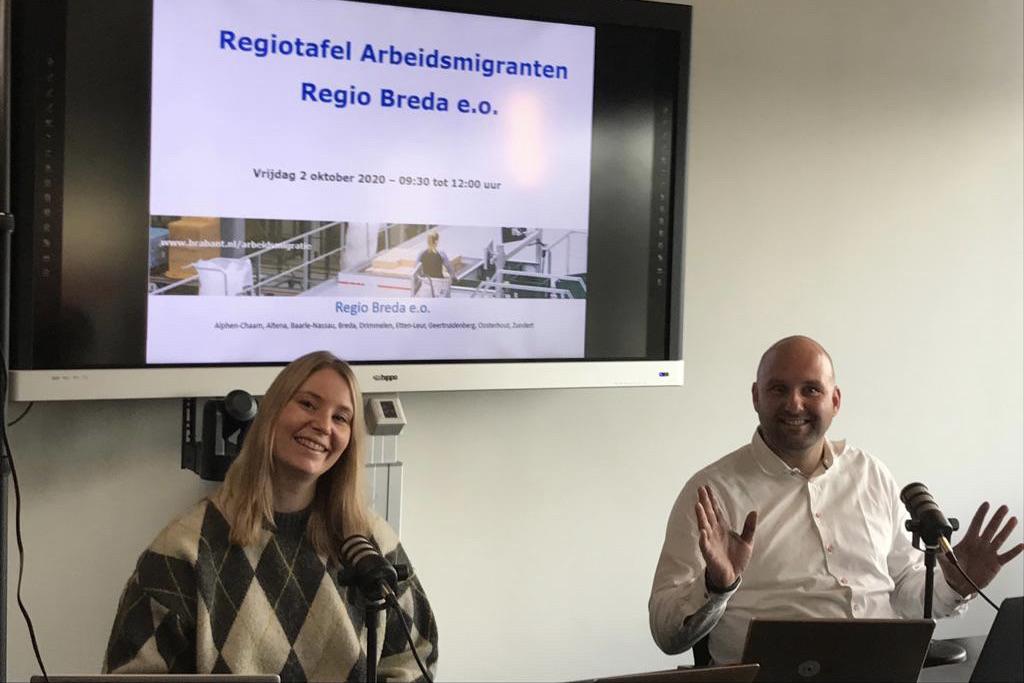 Online dagvoorzitter - Regiotafel Arbeidsmigranten - Breda
